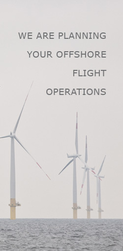 We are Planning your Offshore Flight Operations